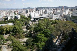 高知城からの景色