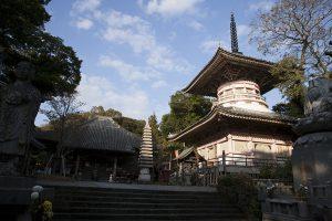 多くの人が訪れる24番札所の最御崎寺。