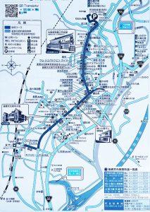 内子の町並み散策マップ