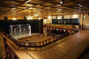 脇町劇場(オデオン座)内部