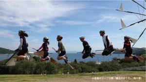 香川県小豆島オリーブ公園「魔法のつえ」