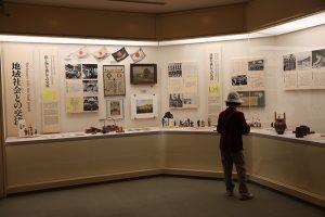 ドイツ兵や地域住民との交流がパネルや資料展示で紹介