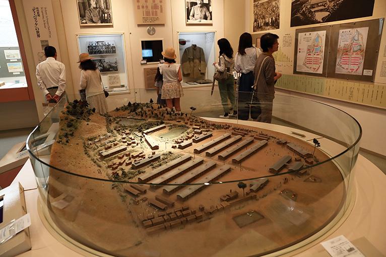 「板東俘虜収容所」全体の様子