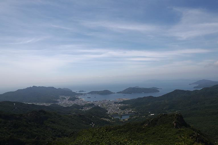 瀬戸内海の海と島々が美しい