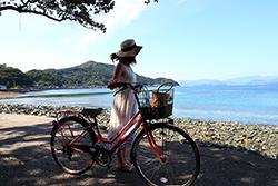 八幡浜大島のサイクリングを楽しもう