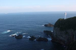 雄大な景色が広がる足摺岬