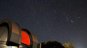 四万十川の近くにある小さな天文台